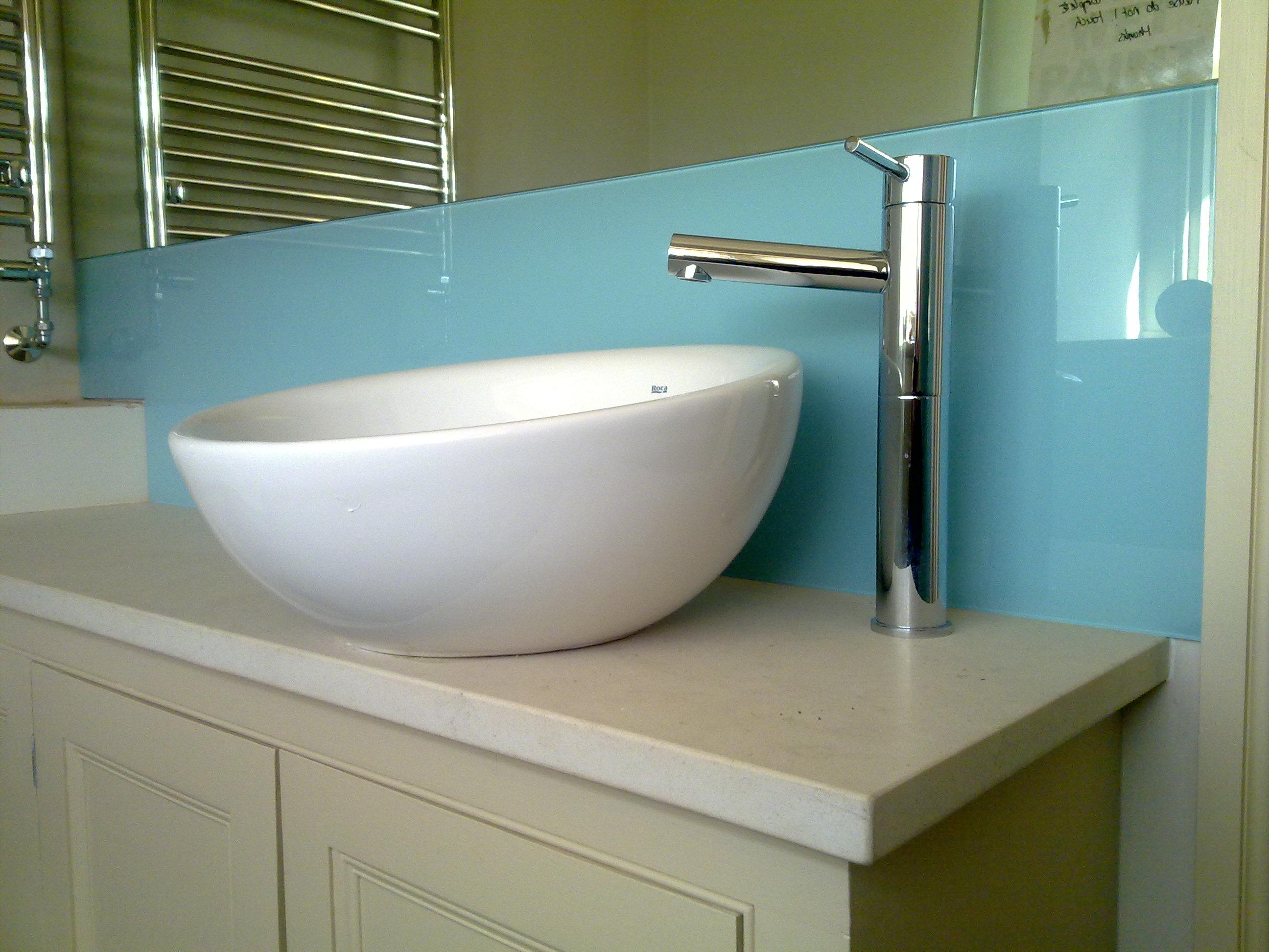 Wash room splashbacks